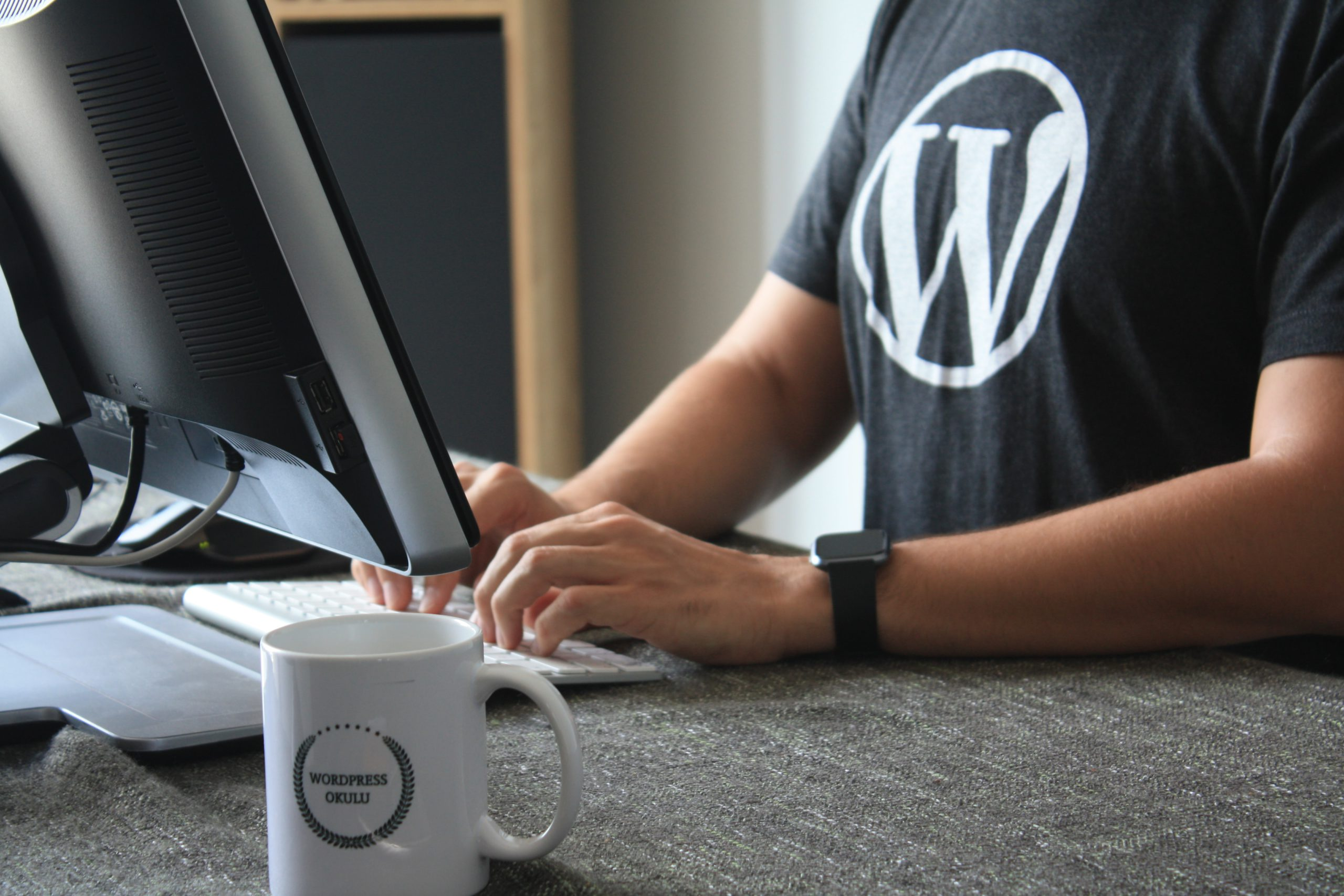 WordPressのロゴTシャツ
