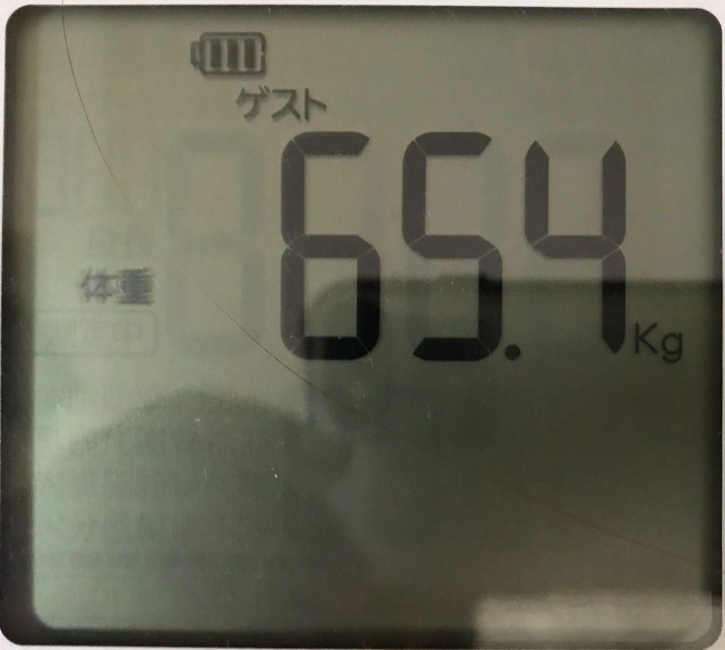 体重計の画像4回目