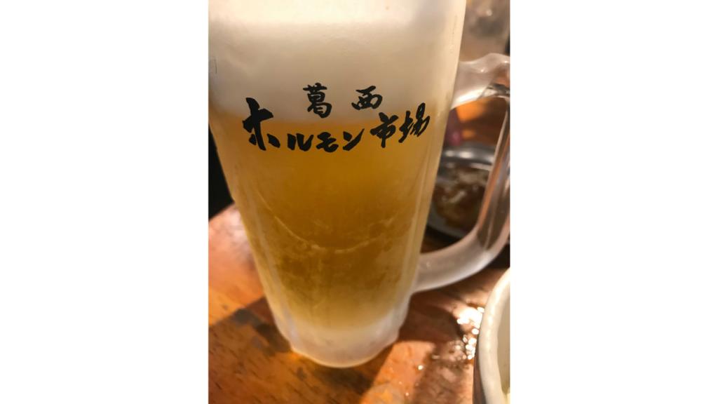 きんきんに冷えた生ビールの画像