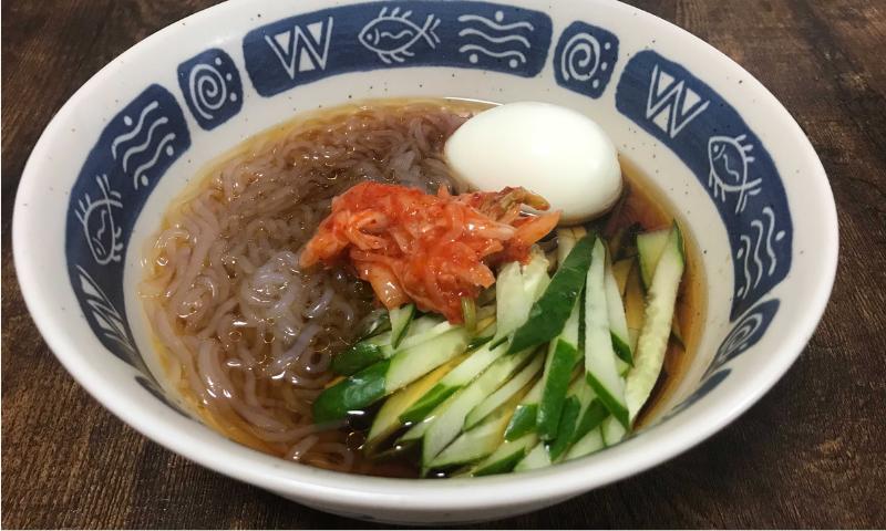 白滝冷麺の画像